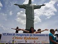 82 anos do Cristo redentor