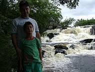 Cachoeira do Hotel fazenda monjolos