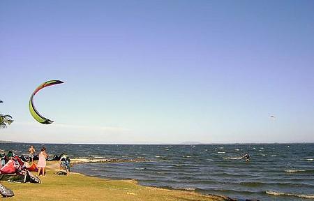 Praia da Pontinha - Um lindo fim de tarde.