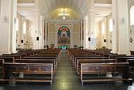 Interior da Igreja Matriz de Santana