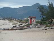 Trechos da praia de Itaipuaçu