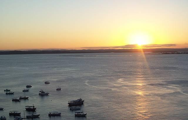 O mais belo pôr-do-sol!