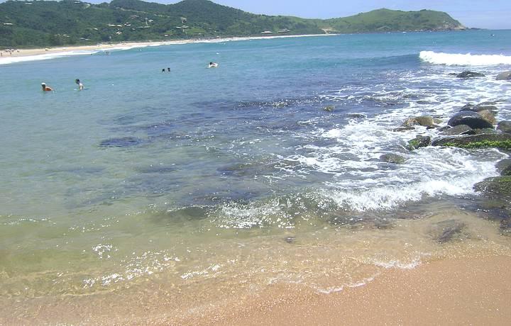 Mar azul da Silveira!!