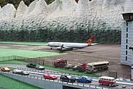 Réplica de um aeroporto
