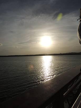 O pôr do Sol mais bonito do Brasil.