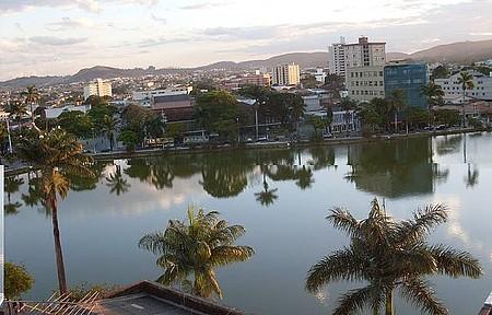 Lagoa Paulino - As Garças nas Palmeiras.
