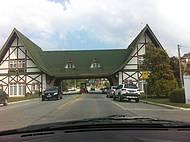 Entrada e saída da Cidade.