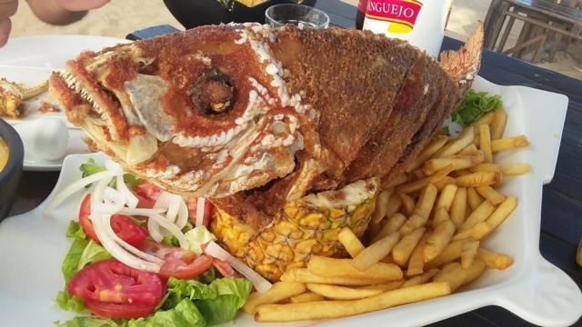 Que peixão!! Bar Lovina, Intermares
