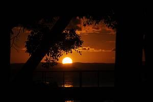 Pôr do sol: Fechando com chave de ouro o passeio das Ilhas<br>