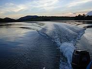 Olha o visual do passeio de barco