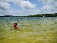 Aguas verdes azuladas ou vice e versa? Que paraíso!