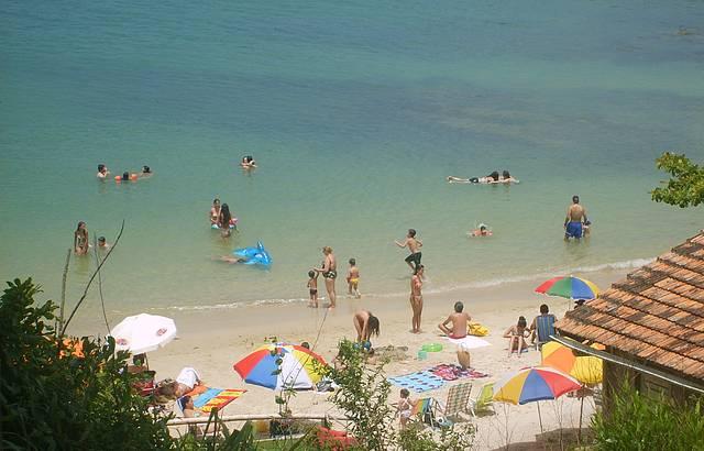 Vista de cima da Praia da Sepultura. Linda como Sempre.!!!
