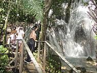 Uma das 8 cachoeiras