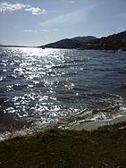 Vista da Lagoa ao anoitecer