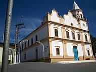 Conhecida como Par´quia de Sant'Ana segue estilo eclético.