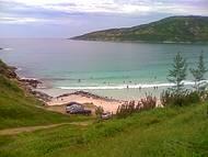 Praia de águas verdes!