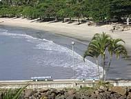 Canto da praia junto ao farol.