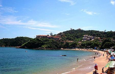 Linda vista da Praia