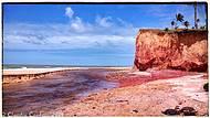 Praia Japara grande - lagoa e mar!