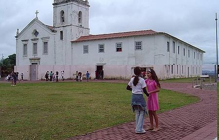 Igreja dos Reis Magos - Estudantes visitam o Museu