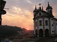 Fim de tarde em Ouro Preto