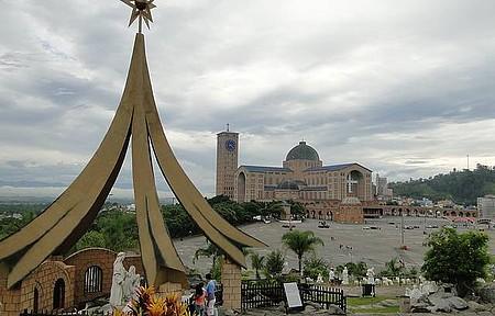 Vista da Basílica a partir do Presépio