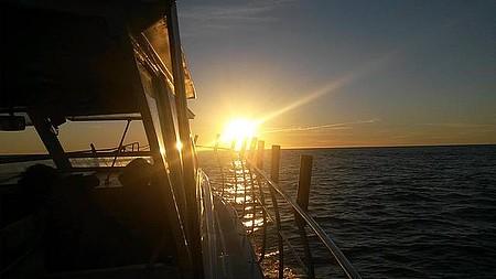Piçarras SC - Navegando - amanhecer