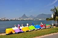 Passeio de pedalinho na Lagoa é programa clássico!