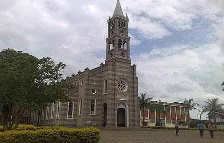 Florestópolis PR - Igreja Matriz de Florestopolis.