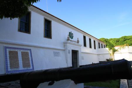 Forte São Lourenço é destaque no Centro Histórico