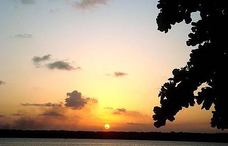Praia do Jacaré - Pôr do sol
