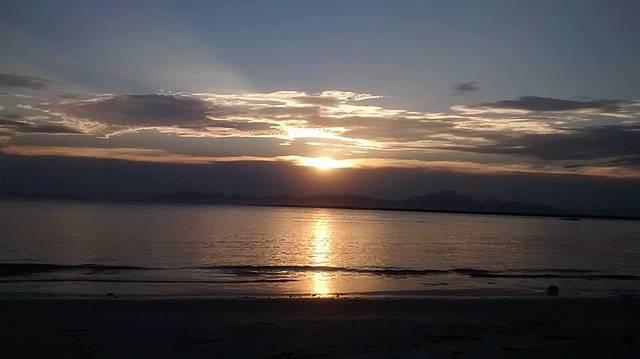 Por-do-Sol na Ilha