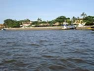 Deixando Cananéia a caminho da Ilha do Cardoso