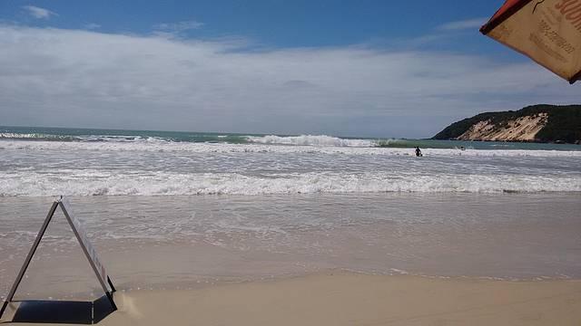 Quiosque do Elias - vista da praia