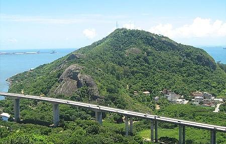 Terceira ponte entre Vila Velha e Vitória (ES) - Terceira ponte