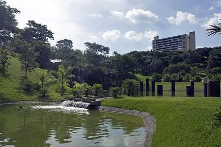 Jardim Botânico - Parque é um dos mais aprazíveis da cidade