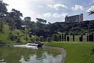 Parque é um dos mais aprazíveis da cidade