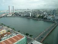 Rio Capibaribe e Ponte Maurício de Nassau