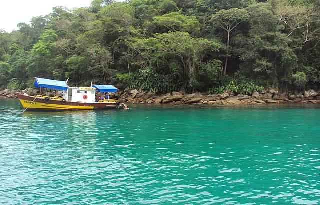 Lugar maravilhoso para mergulho
