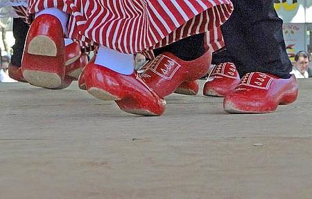 Expoflora - Apresentação de dança típica holandesa