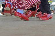 Apresentação de dança típica holandesa