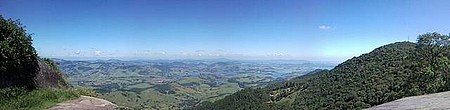 Pico do Lopo - Panorâmica com visual para o estado de SP