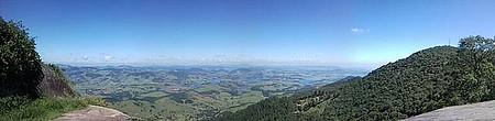 Pico do Lopo - Panorâmica com visual para o estado de SP