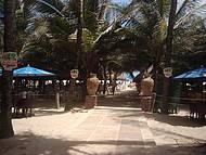 Entrada do Crocobeach