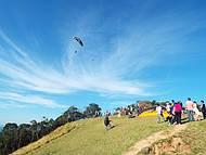 Vôo de Paraglider