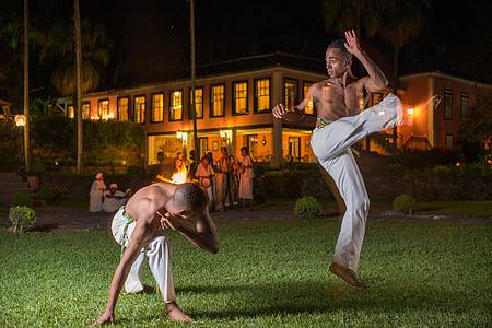 Páscoa tem gosto especial no Vale do Café (RJ) - Capoeira é uma das atrações