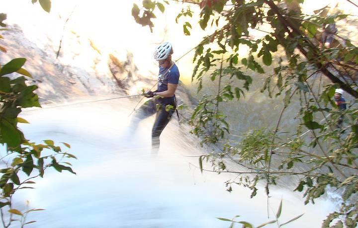 Cachoeiras s�o perfeitas para a atividade