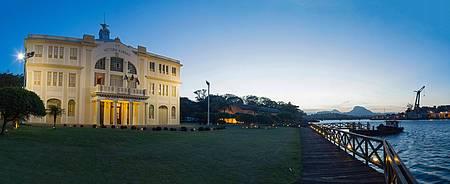 Museu Ferroviário / Vale - Belo espaço fica às margens da baía de Vitória