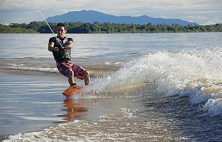 Rio Branco - Pefeito para a prática de esportes náuticos