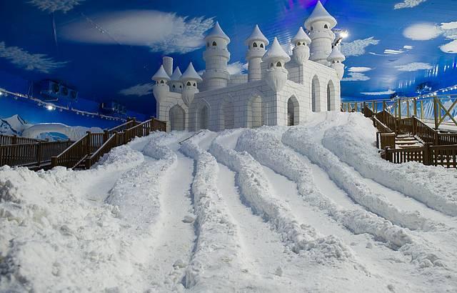 Ambiente terá neve o ano inteiro!